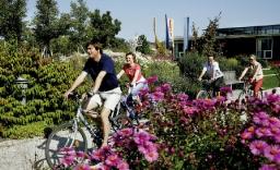 Radtour im Kurpark